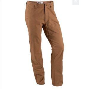 Men's Mountain Khakis EUC tan pants 36x34